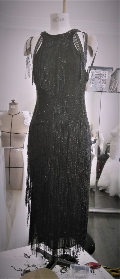 Black Dress Jurassic World Leah Da Gloria