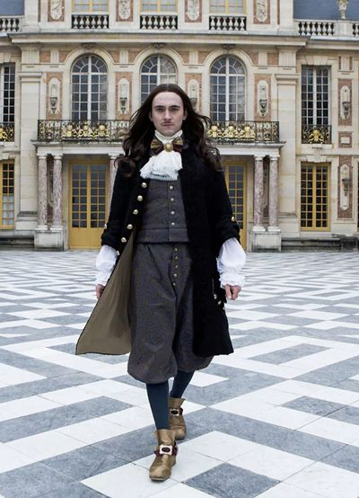 George Blagen as Louis XIV in Versailles TV Series 2016