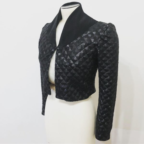 Black Sequins Matador Inspired Jacket