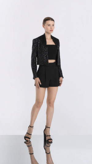 Matador Black Sequin Jacket Front