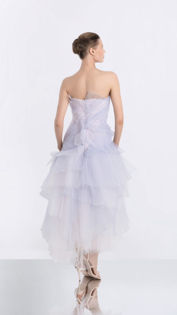 Moonrise Light Purple Tulle Dress Back
