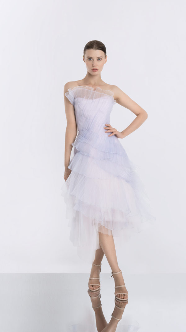 Moonrise Light Purple Tulle Dress Front 2