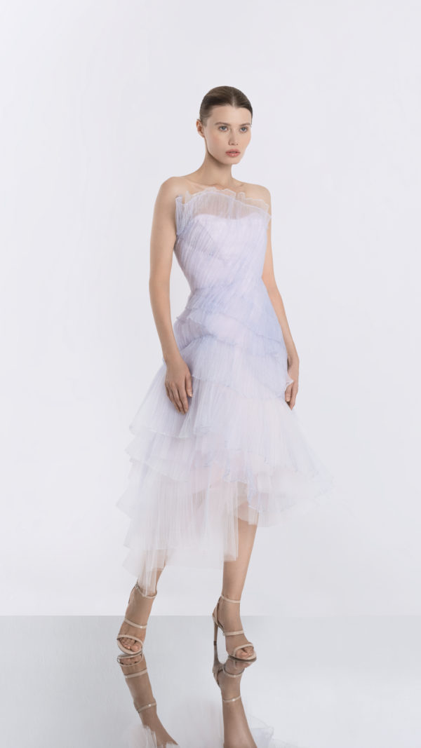 Moonrise Light Purple Tulle Dress Front