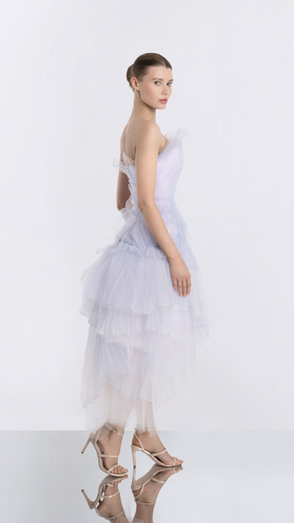 Moonrise Light Purple Tulle Dress Side
