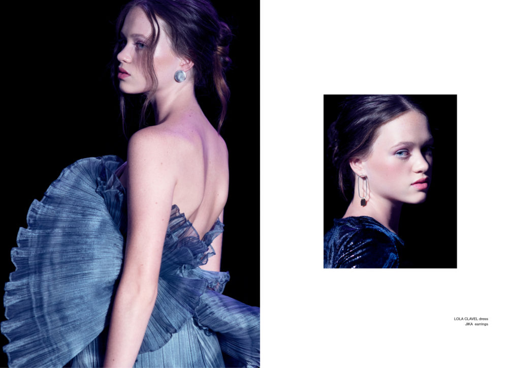 Moonrise Miecha Holland Luna Grey Dress