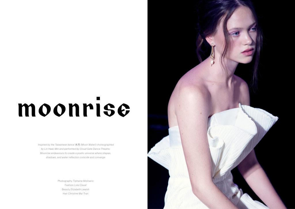 Moonrise Miecha Holland White Jumpsuit